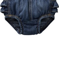 Old Navy Ruffled Denim Bloomers For Baby