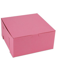 "Pink 8"" Bakery Box"