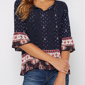 Folklore Floral Blouse By Sadie Robertson X Wild Blue®