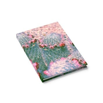 Cactus bunch - 128 Page Hardcover Lined Journal