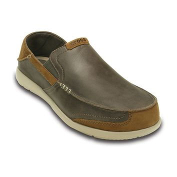 Crocs Walu Express Men's Loafers (Brown)