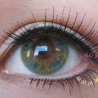 NEO Lucky Clover Green Circle Lenses Colored Contacts Cosmetic Color Circle Lens   EyeCandy's