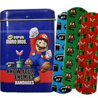 Mario Brothers Bandages - Whimsical & Unique Gift Ideas for the Coolest Gift Givers