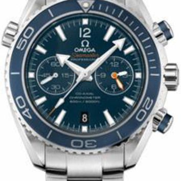 Omega - Seamaster Planet Ocean 600 M Co-Axial Chronograph 45.5 mm - Titanium