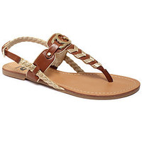 G by GUESS Women's Shoes, Lally Flat Sandals - More Choices - Shoes - Macy's