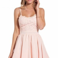 Frosting dress in baby pink | SHOWPO Fashion Online Shopping