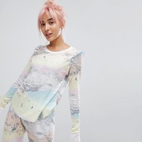 Wildfox Ski Slopes Lounge Top at asos.com
