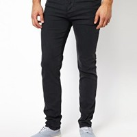 ASOS Skinny Jean With Heavy Tint at asos.com