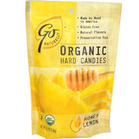 Go Naturally Honey-lem Hrd Candy (6x3.5oz )