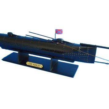 H. L. Hunley Limited Civil Model Submarine 24""