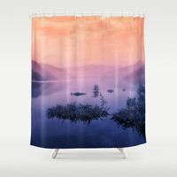 Echo's Answer Shower Curtain by Tordis Kayma