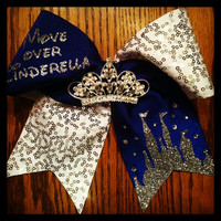 "The ""Move Over Cinderella"" Cheer Bow"