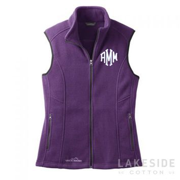 Eddie Bauer Monogram Vest | Lakeside Cotton