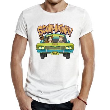 Supernatural Mystery Machine T Shirts Men Unisex Tees Casual Fashion TV Show Television sam winchester dean scooby doo T-Shirts