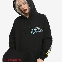 Riverdale Welcome To Riverdale Girls Hoodie Hot Topic Exclusive