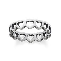 James Avery Tiny Hearts Band Ring | Dillards