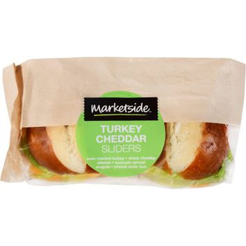 Marketside Turkey Cheddar Sliders - Walmart.com