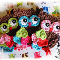 Crochet PATTERN, Applique Magic Owl, Applique Owl, DIY Pattern 6