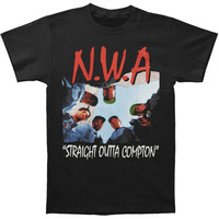 N.W.A. Men's Straight Outta Compton T-shirt Black - Sears