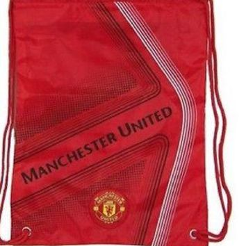 BACK PACK MANCHESTER UNITED Cinch Soccer Book Bag Gym  MUFC Authentic