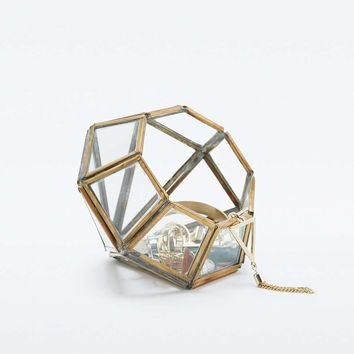 Mini Diamond Jewellery Box - Urban Outfitters