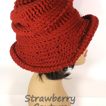 03d798267ad Crochet Hat Womens Hat Womens Crochet Hat
