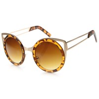 Amazon Dept Cateye Sunglasses With UV400 Protected Composite Lens