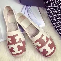 Tory Burch Slip-On Women Fashion Espadrilles Flats Shoes