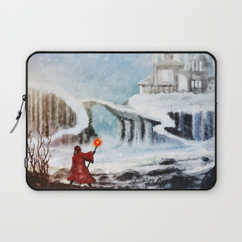 The North Laptop Sleeve by Moonlit Emporium