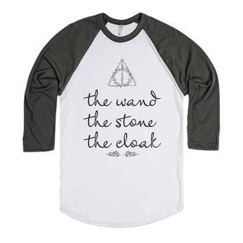 The Wand, The Stone, The Cloak