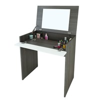Vanity Table Desk with Storage Space