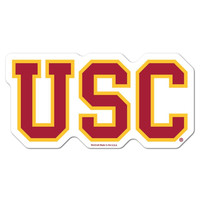USC Trojans NCAA Automotive Grille Logo on the GOGO