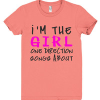 im the girl one direction songs about tshirt