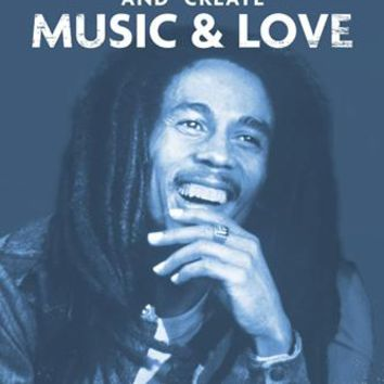 Bob Marley: Music & Love Unknown Art Print