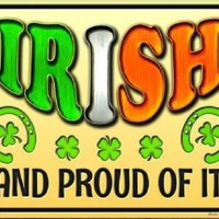 Irish and Proud of It  St Patricks Day Sign