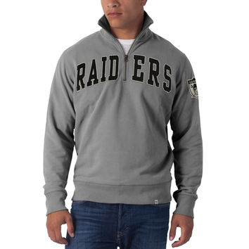 Oakland Raiders - Striker 1/4 Zip Premium Sweatshirt