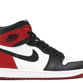 "Air Jordan I ""Black Toe"""