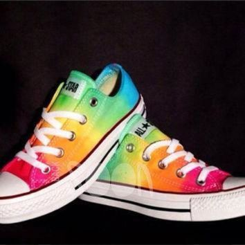 09a54b0837c0 Best Rainbow Converse Products on Wanelo
