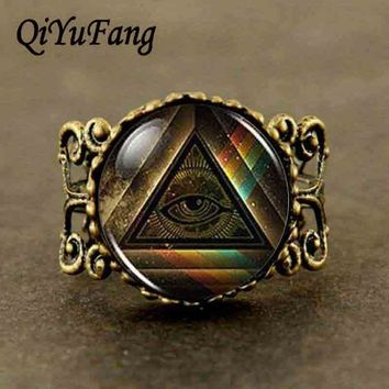 Doctor Who Head God Goddess Mens bronze silver Ring steampunk Gift womens alice in wonderland 1pcs/lot Masonic free