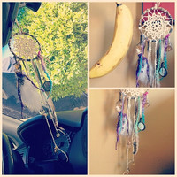 Daydreamin dreamcatcher for your car by TheLittleBigShop on Etsy