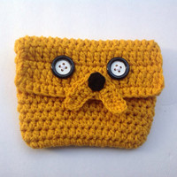 Adventure time Jake the dog iPad case or pouch