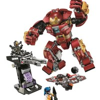10832 Avengers Infinity War The Hulkbuster Smash-Up Compatible with Legoings 76104 Block Set Building Brick Toy For Kids