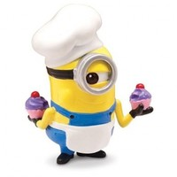 Despicable Me 2 Figure, Minion Baker by Thinkway