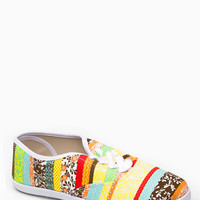 Multi Colored Canvas Sneakers