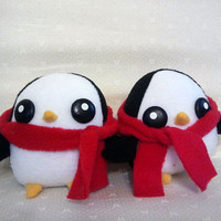Winter Gunter Penguin Plush