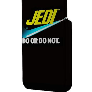 Best 3D Full Wrap Phone Case - Hard (PC) Cover with Nike Parody Do or Do Not Star Wars Design