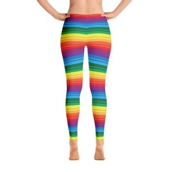 PRIDE, RAINBOW Leggings