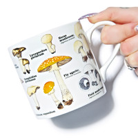Gift Republic Magic Mushroom Mug Off White One