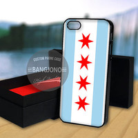 Chicago Flag case for Note 2,3-iPod 4th 5th-iPhone 5,5s,5c,4,4s,6,6+[ 2Gtk ]-LG Nexus-HTC One-Samsung Galaxy S3,S4,S5