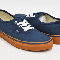 Vans (K) Authentic(Gum)Olyp Blue/Md Gum